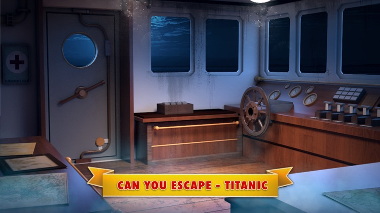 Can You Escape Titanic: Room Escape Game screenshot-0