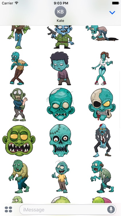 Zombistickers screenshot-1