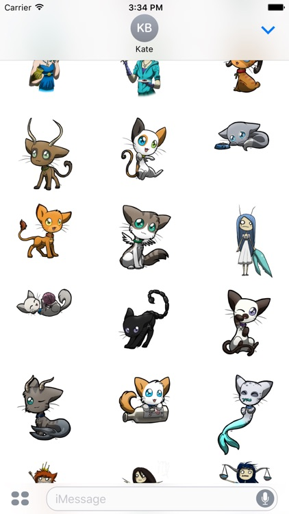 Sunsigns - Redbubble sticker pack screenshot-3