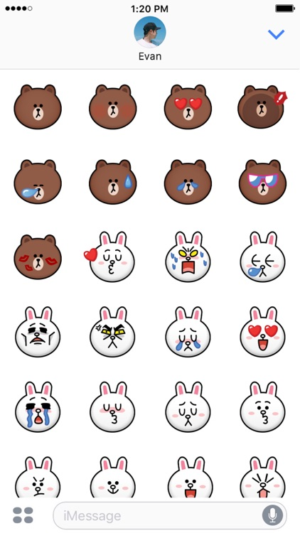BROWN & CONY Emoji Stickers - LINE FRIENDS screenshot-3