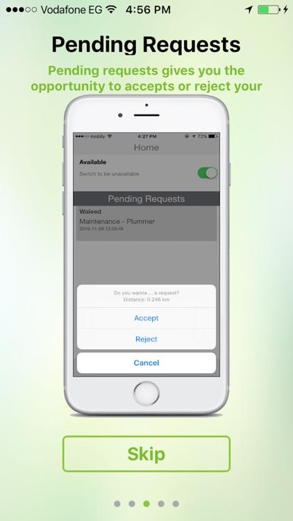 مزود في الخدمة screenshot-3