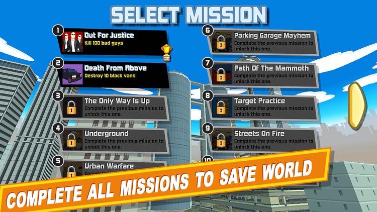 Crime City Gangster Shooter Games: War Simulator screenshot-4