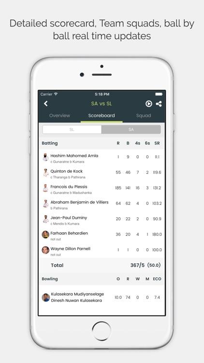Cricingif-Live Cricket Scores