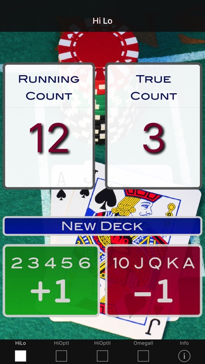 A Blackjack Card Counter - Professional screenshot-0