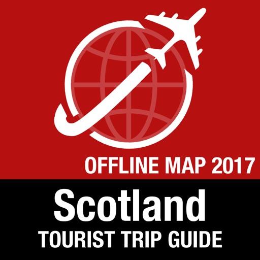 Scotland Tourist Guide + Offline Map