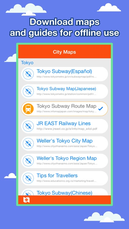 Tokyo City Maps - Discover TYO with MTR & Guides screenshot-0