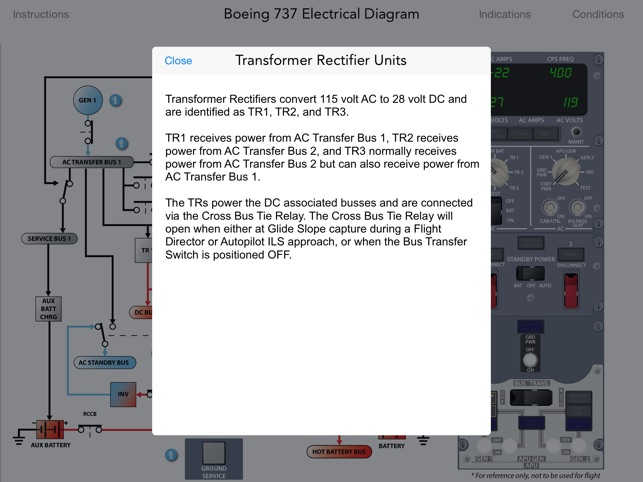Boeing 737 NG Electrical and Fuel on the App Store