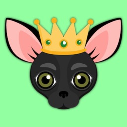 Black Chihuahua Emoji Stickers for iMessage