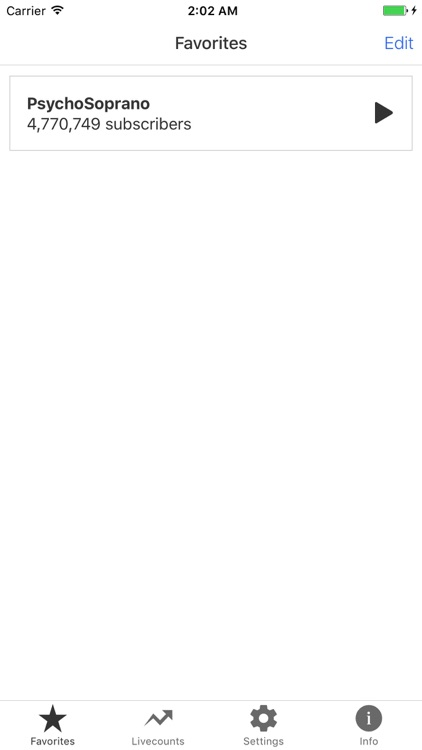 Livecounts - Live Subscriber Count screenshot-3