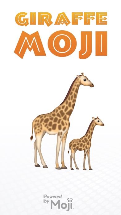 GiraffeMoji by Moji Stickers screenshot 1