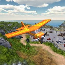 Flight Pilot Sim-ulator:3D Hawaii Adventure