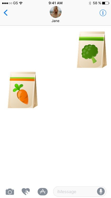 Shopping Bag Sticker Pack