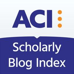ACI Scholarly Blog Index