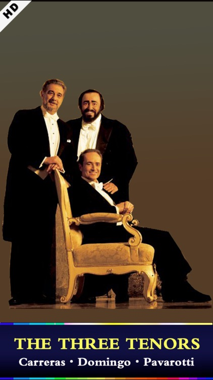 Three Tenors [Pavarotti·Domingo·Carreras]