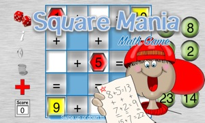 Square Mania Math Game
