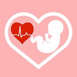 Baby Heartbeat Monitor - Fetal baby beat Listener