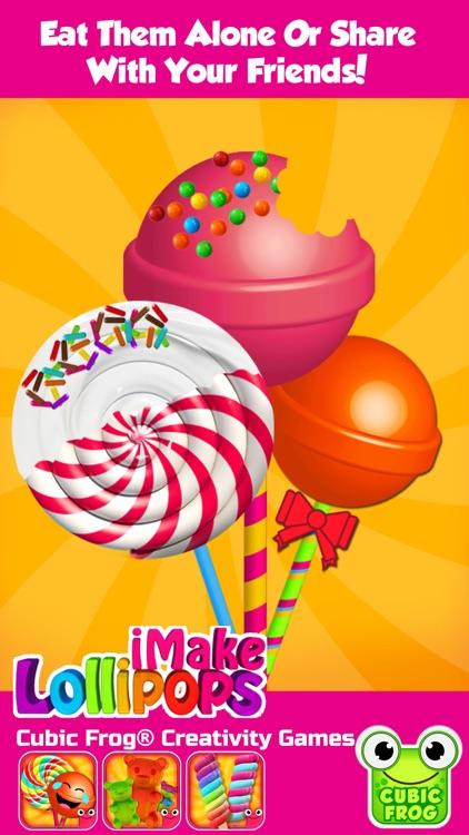 Candy Maker Food Games-iMake Lollipops for Kids screenshot-3