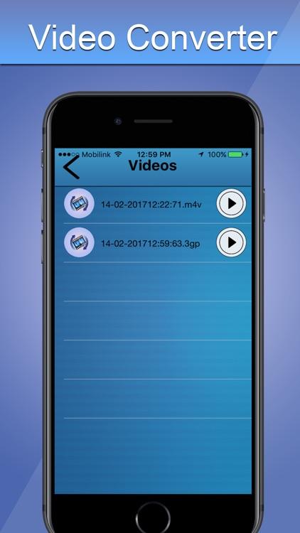 Universal Videos Converter - mp4 Converter screenshot-3