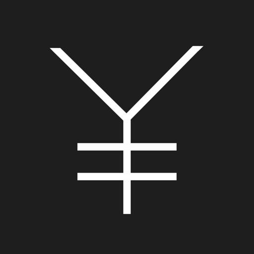 シンプルな利益計算アプリ-THE BLACK
