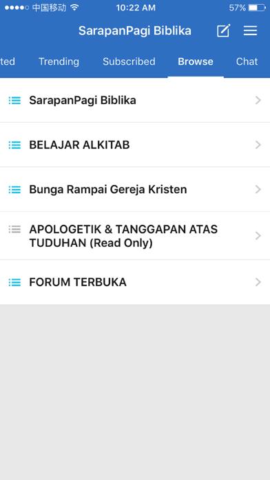 SarapanPagi Biblika screenshot 2