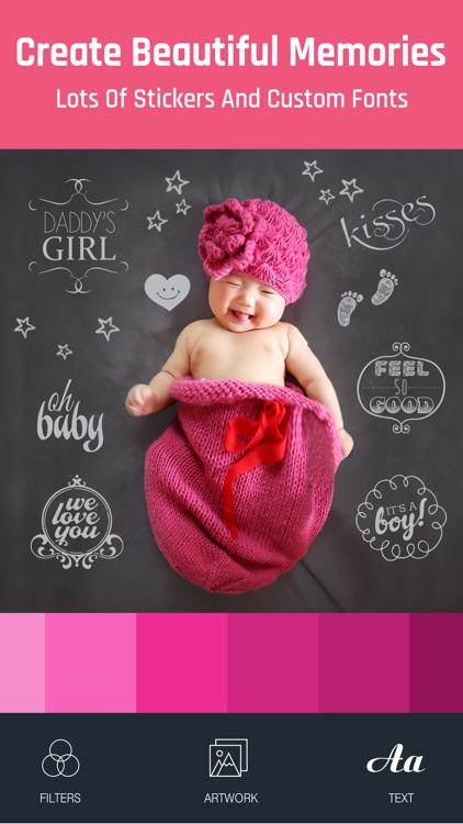 Baby Photo - Edit Pregnancy & Baby Milestones Pics screenshot-3