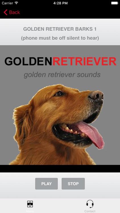 Golden Retriever Sounds for Dogs