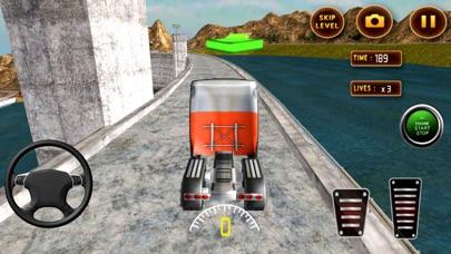 真实 越野 卡车 赛车 : 小径 吉普车 模拟器 App 截图
