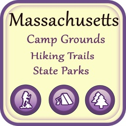 Massachusetts Campgrounds & Hiking Trails,State Pa