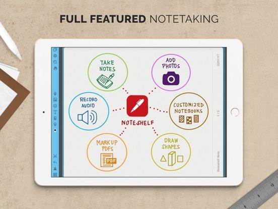 Screenshot #1 for Noteshelf