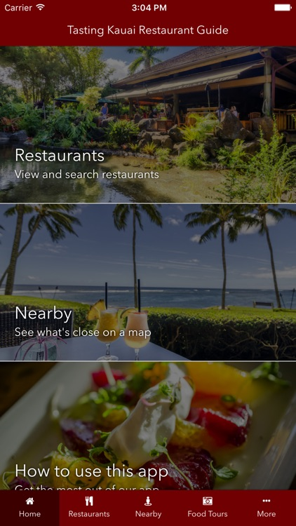 Tasting Kauai Restaurant Guide screenshot-0