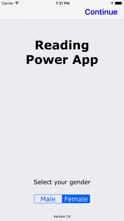 Reading Power App