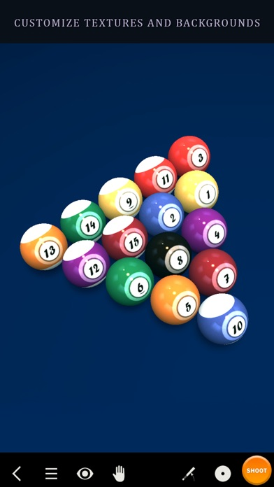 Screenshot #8 for Pool Break 3D Billiards 8 Ball, 9 Ball, Snooker