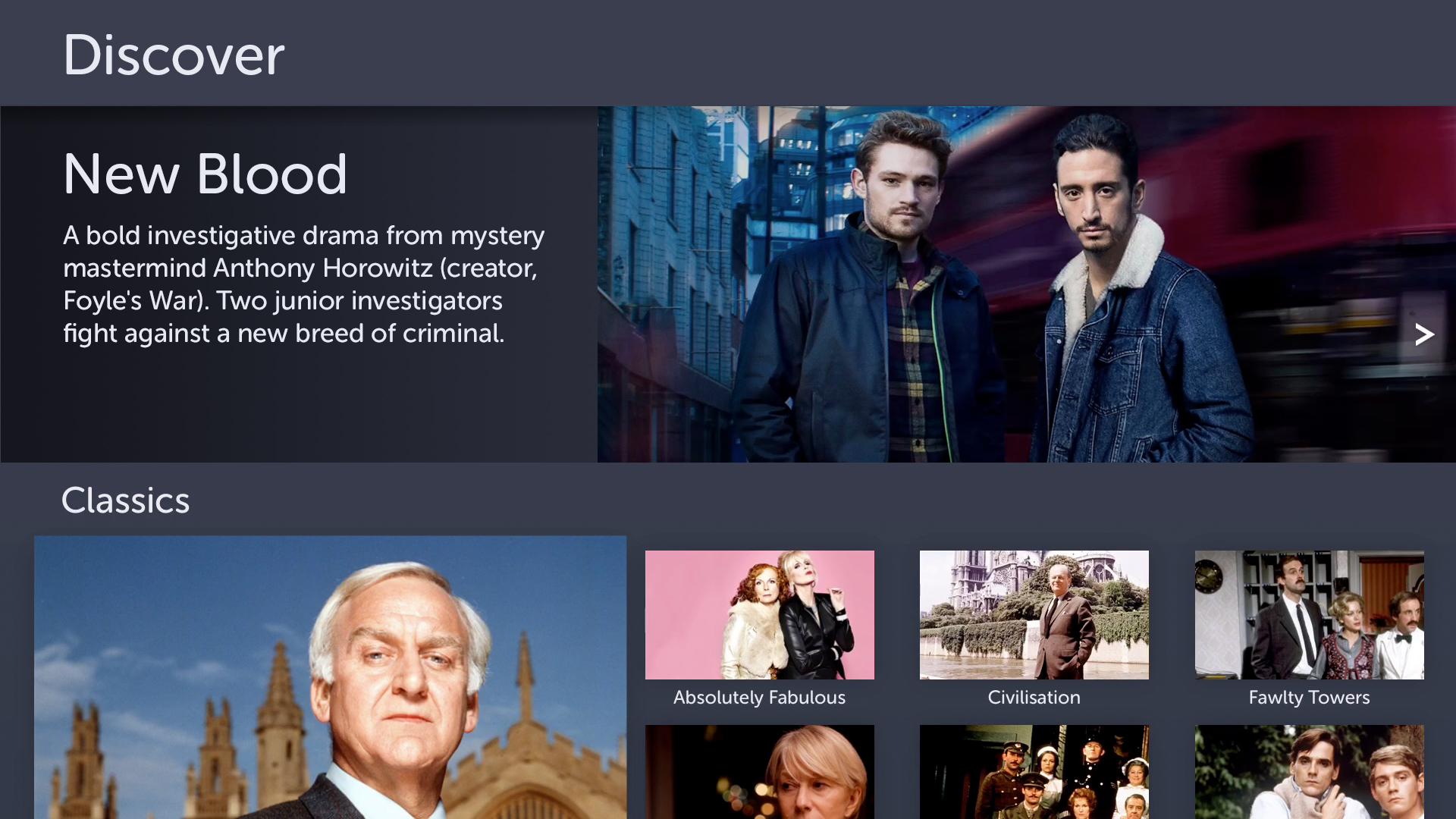 BritBox by BBC & ITV screenshot 15