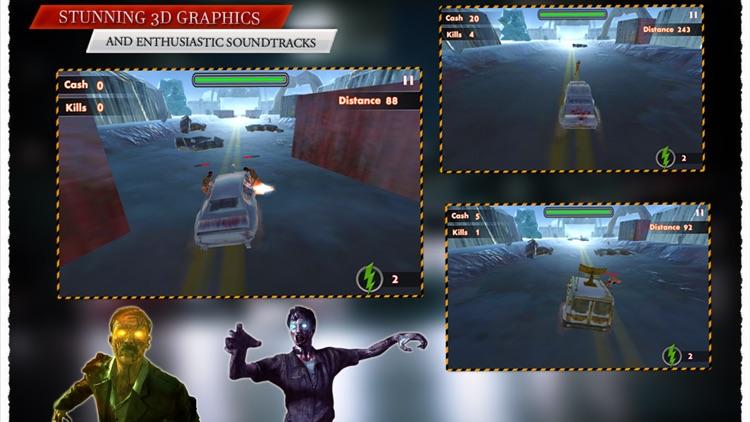 Racing N Kill Zombie screenshot-3