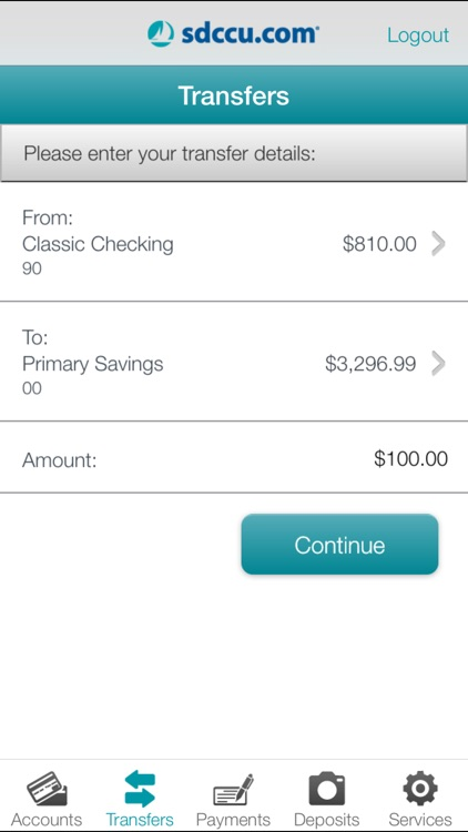 SDCCU Mobile Banking screenshot-1