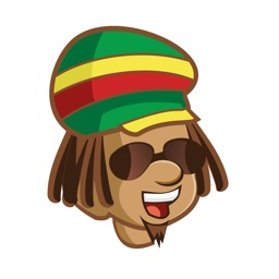 iDrin ( The Reggae Jamaica Patois stickers)