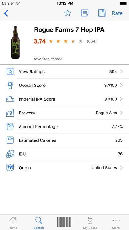 Beer Buddy - Scanner & Ratings