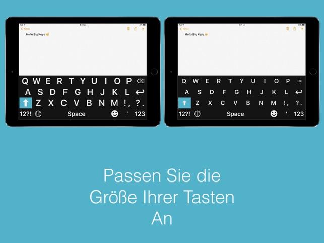 Big Keys Tastatur Screenshot