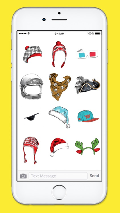 Hats Glasses and More Photobooth Sticker Pack screenshot-4