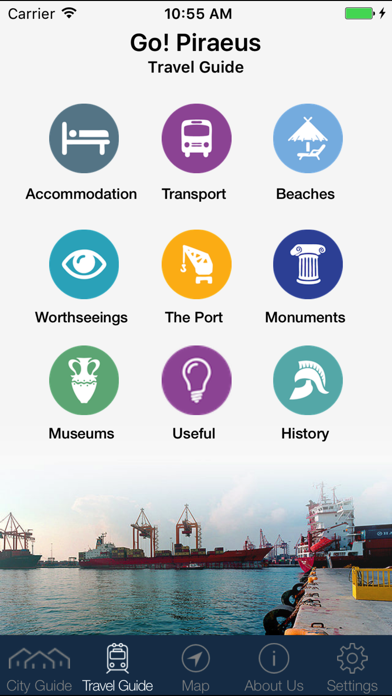Piraeus Amazing Travel Guide - Go! Piraeus App screenshot one