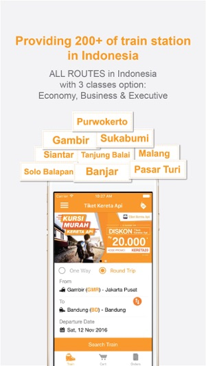 Tiket kereta api on the app store stopboris Gallery