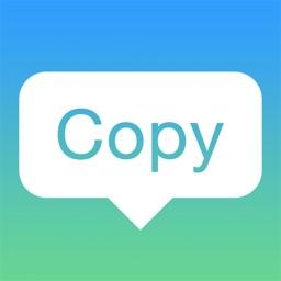 Copy & Paste   Clipboard Widget