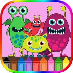 Monster Coloring Book Free!