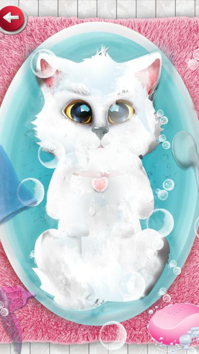 Kitten Salon : kitty games & kids games for girls screenshot four