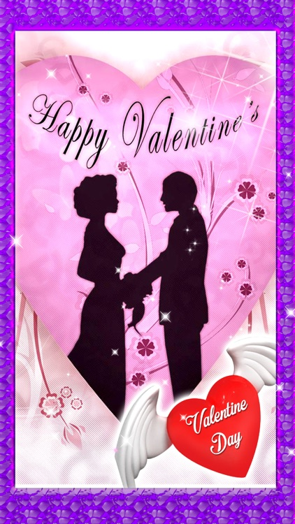 Valentine Day Love Card Maker - Greeting Card Game