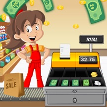 Supermarket Cash Register Game : Educational Sim
