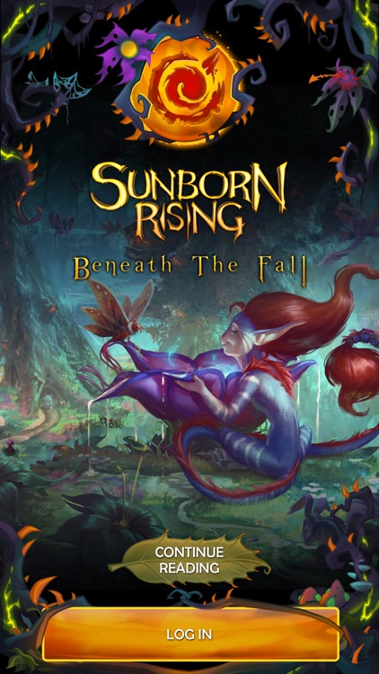 Beneath the Fall - A Sunborn Rising Novel