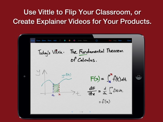 Vittle: Smart Whiteboard Video Screenshots