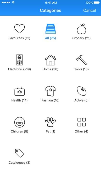 reebee - Flyers & Shopping List screenshot-4