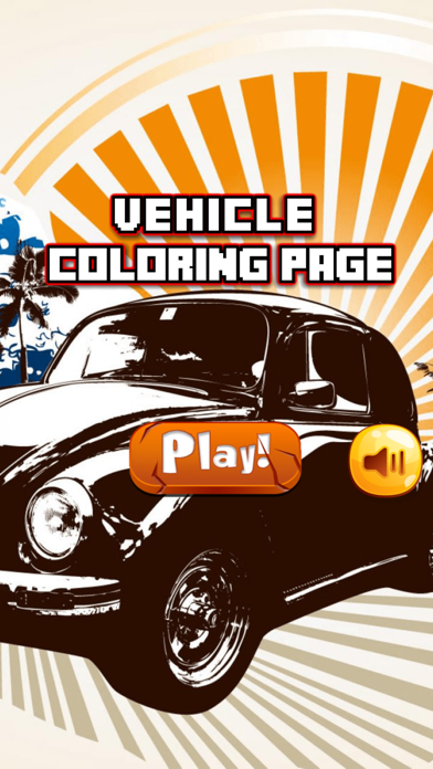 Vehicles & Car Coloring Book for Kids and toddlers